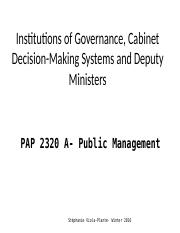 PAP2320 -Institutions of Governance 1-3.ppt
