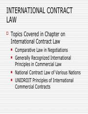 IBC_International Contract Law