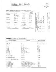ECE 467_667 handouts for Quiz 2