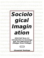 SOC-101-Sociological Imagination-09-05-2016.docx