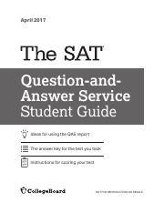 CB04 AK pdf - SAT Practice Test#4 Worksheets ANSWER KEY Writing and
