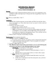 COMS 130 Introductory Speech Rubric.doc