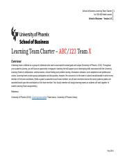 LearningTeamCharter_Eco 365_TEAM E Updated.docx