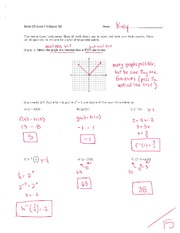 Math 125 Exam 5 Key On Intermediate Algebra