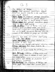 Chapter 3 Book Notes: the nature of values