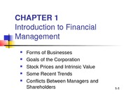 Chapter 01_OverView of Financial Mgmt