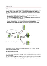 How the DNS works
