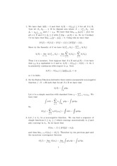 Homework 9 Solutions on Dynamical Systems and Ergodic Theory