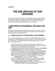 CH 3 - The Size & Age of our Universe2