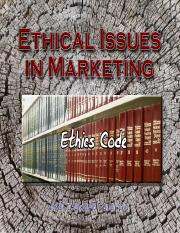12 - Ethical Issues in Marketing.pot