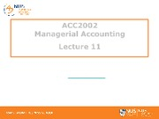 Lecture 11 - Transfer Pricing