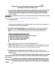 Module Four Lesson One Mastery Assignment Template.pdf