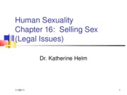 Human Sexuality Chapter 16R