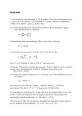Statistical and Solid Physics Notes 3_tut_5