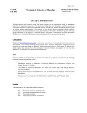 CE334L Syllabus Fall 2011