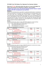 MCD2060 Trim1 2014 Balance Day Adjustments Past Questions solutions (1)