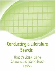 Conduct Lit Search_Slides