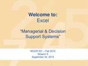MGCR 331 - F15 - Session 8 - 2015 09 30 - Decision Support Systems (10)