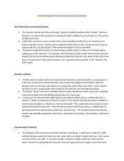 rapunzel analysis essay