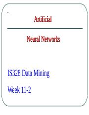 Lecture 11- Neural Networks Overview.ppt