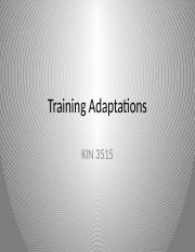 Training Adaptations.pptx