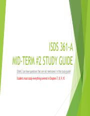 MID-TERM#2 Study Guide.pdf