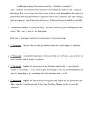 Final Essay Activity - Government and You 2013 - modified.doc