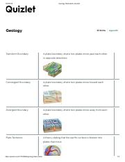 Geology chapter 1-4 Flashcards _ Quizlet pdf - Geology