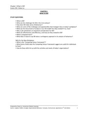 OB- Ch.1 notes