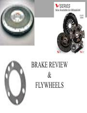 lect 10 -Brake Review & Flywheels Castro
