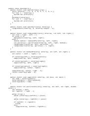QuickSort3.java