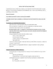 Science 100-Science Final Exam Study Guide