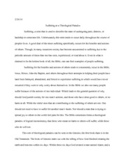Paper on Theological Paradox