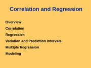 10. Correlation and Regression(2)