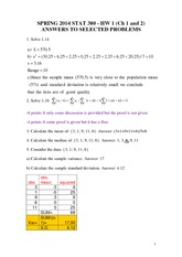 Spring 2014 Homework 1 (chapter 1, 2)_ANSWERS