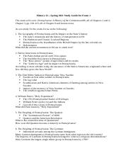 HISTORY 12 Study Guide Exam 1.docx