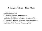 4.+Design+of+Discrete-Time+Filters