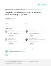 Bangladesh Marketing Innovation for Health Baseline Survey 2013-2014.pdf