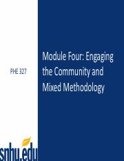 PHE 327 Module 4 Overview.pdf