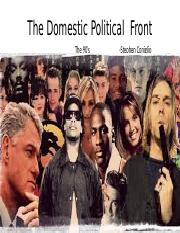 completely finished project The Domestic Political  Front powerpoint actually.pptx