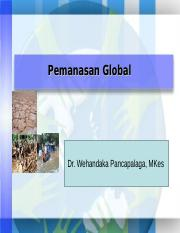 Mgg ke 6 (PEMANASAN GLOBAL)