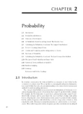 Chapter 2 Probability - Mathematical Statistics with Applications (7th Edition)