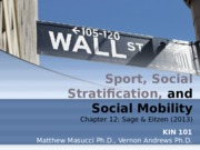 12 Sport, Social Stratification, and Social Mobility 12