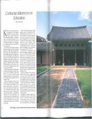 Confucian Influences on Education