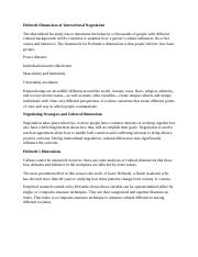 Unit 4 Intellipath - Hofstede Dimensions of Intercultural Negotiation.docx