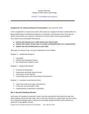 Assignment 2- 3- Research Report_Sp.16.docx