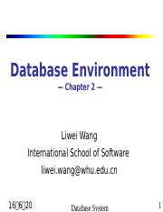 2 Database Environment.ppt