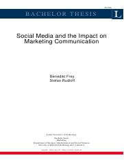 2010 Social media and the impact on marketing communication.pdf
