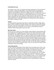 reflection of english coursework Name lecturer course date reflection paper the article covered in this paper is a tree hugger, with a twist by henry fountain published in may 23, 2011.