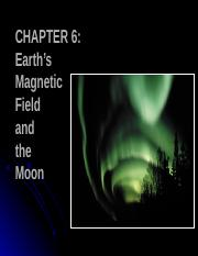 08 earth magnetic field and moon.ppt